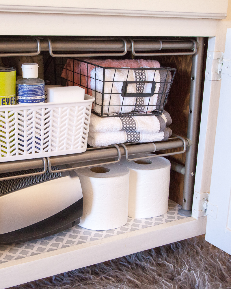 Under the Sink Bathroom Storage Ideas