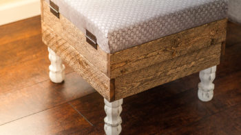 This Beautiful DIY Storage Ottoman Will Make You Want To Build One of Your Own