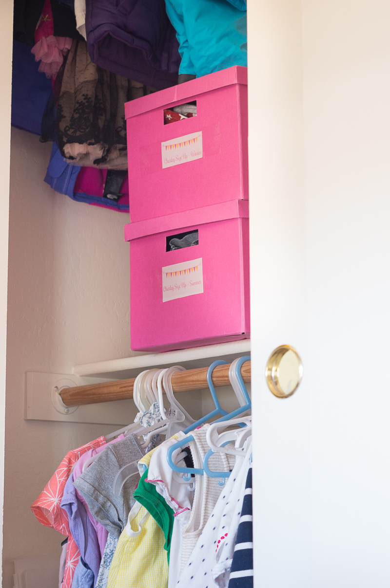 How to Organize Hand-Me-Downs