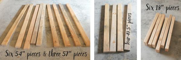 DIY Garage Storage Shelves - Cut the Wood