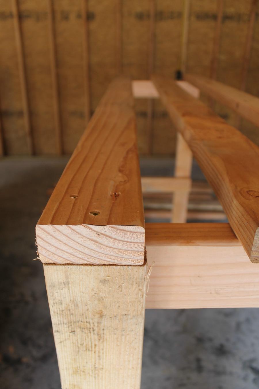 DIY Garage Storage Shelves - Add Top Shelf