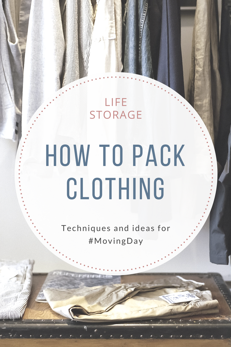 How to pack clothing