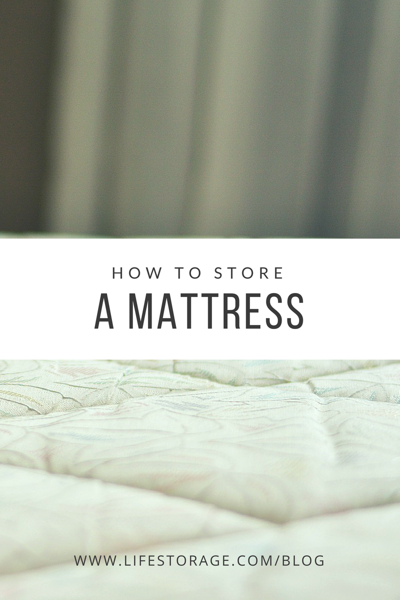 How to store a mattress the right way, how to wrap a mattress