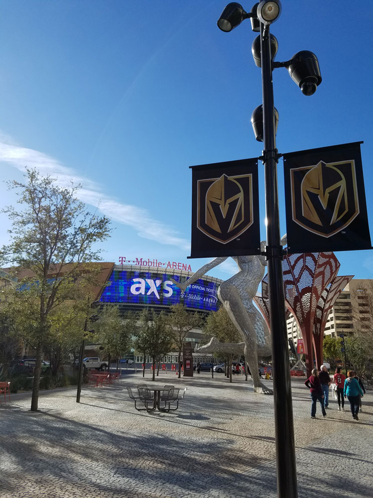 Moving to Las Vegas - T-Mobile Arena, Golden Knights