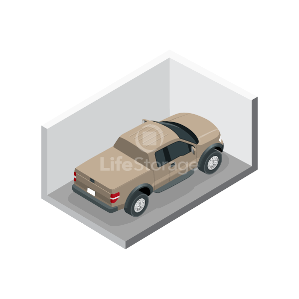 Large Car Storage Parking Space - Indoors