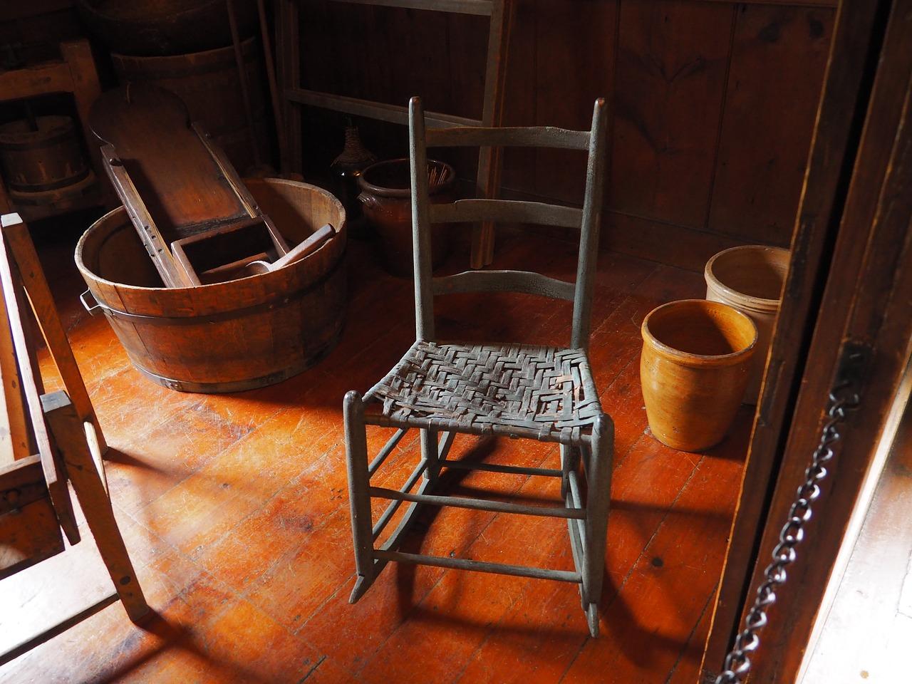 Furniture In A Storage Unit