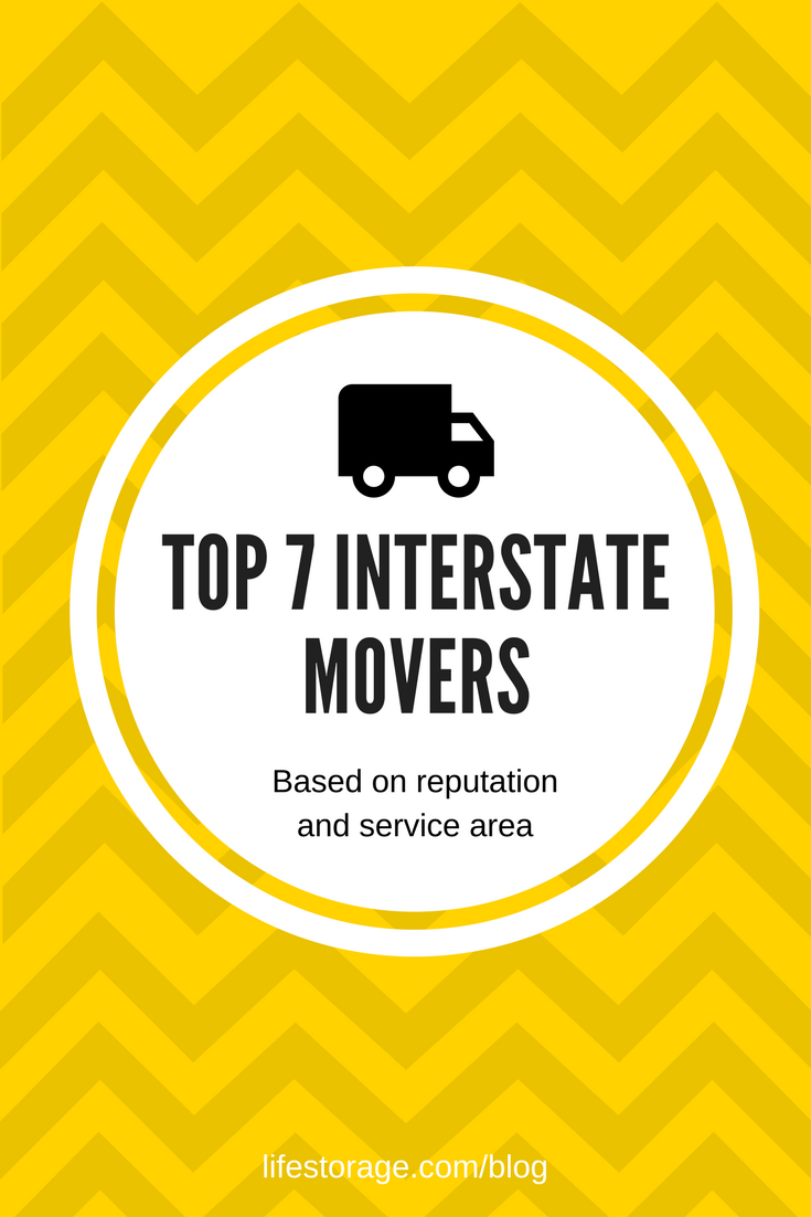 Top 7 Interstate Mover Companies - Pin