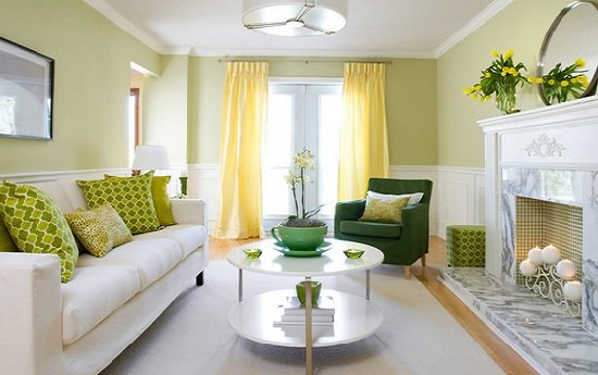 Spring Cleaning Tips - Light Linens in Bright Colors