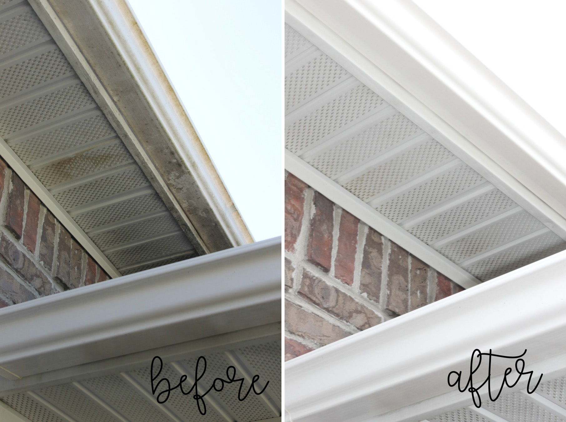 Curb Appeal Ideas - Clean Eaves, Gutters and Overhangs