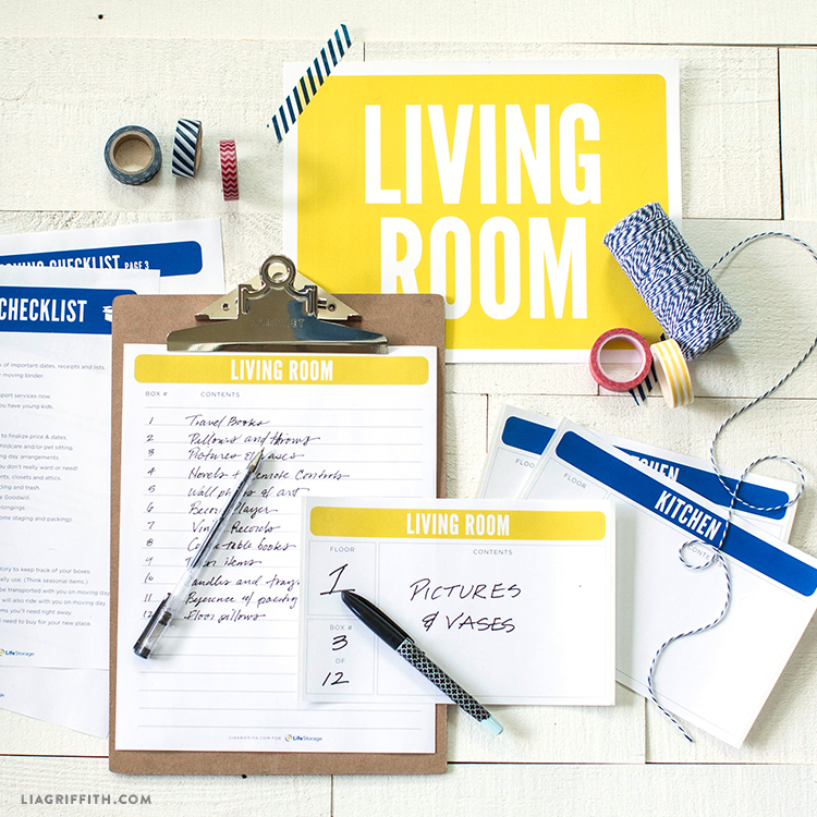 Free Moving Checklist Printable and Moving Kit
