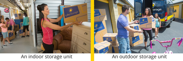 Different Types of Storage Units: How to Choose - Indoor Storage Units vs. Outdoor Storage Units