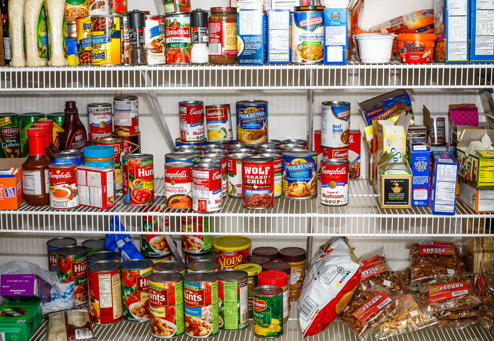 How to Organize a Pantry When It's a Mess