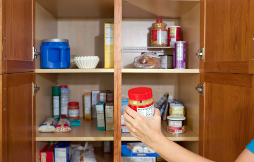 How to Organize a Pantry - First Step is to Empty and Purge