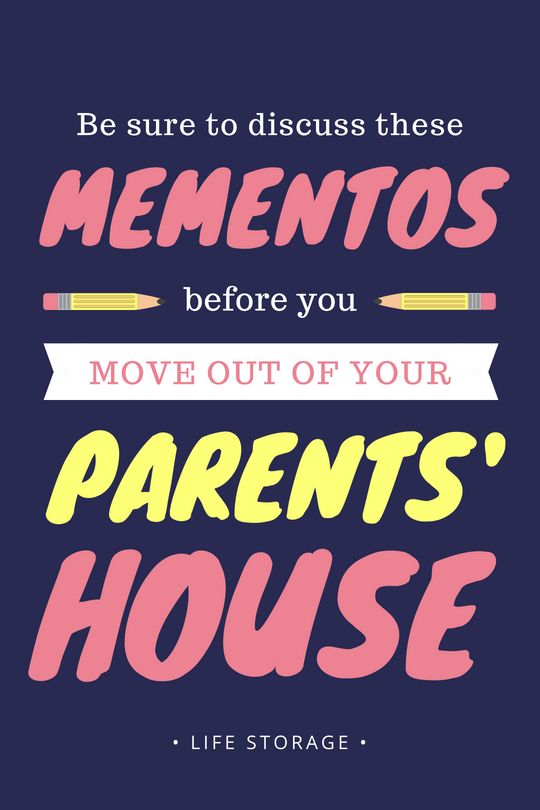 Moving out of your parent's house