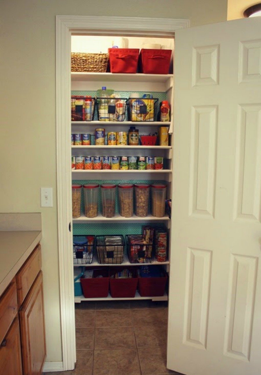 21 Things to Do Before Selling Your Home - Clean out the pantry and make it look spacious.