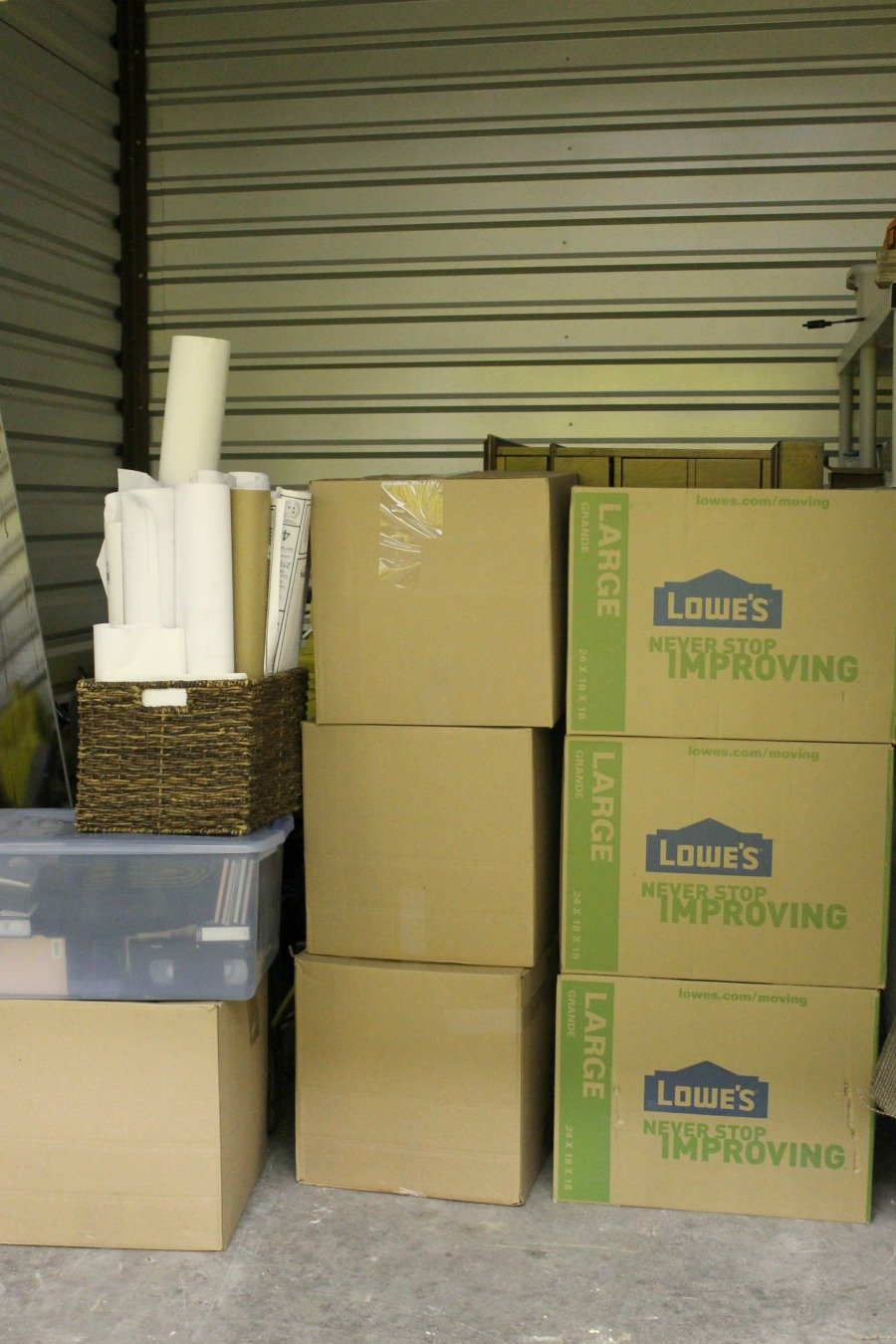 21 Things to Do Before Selling Your Home - Move clutter to a storage unit.