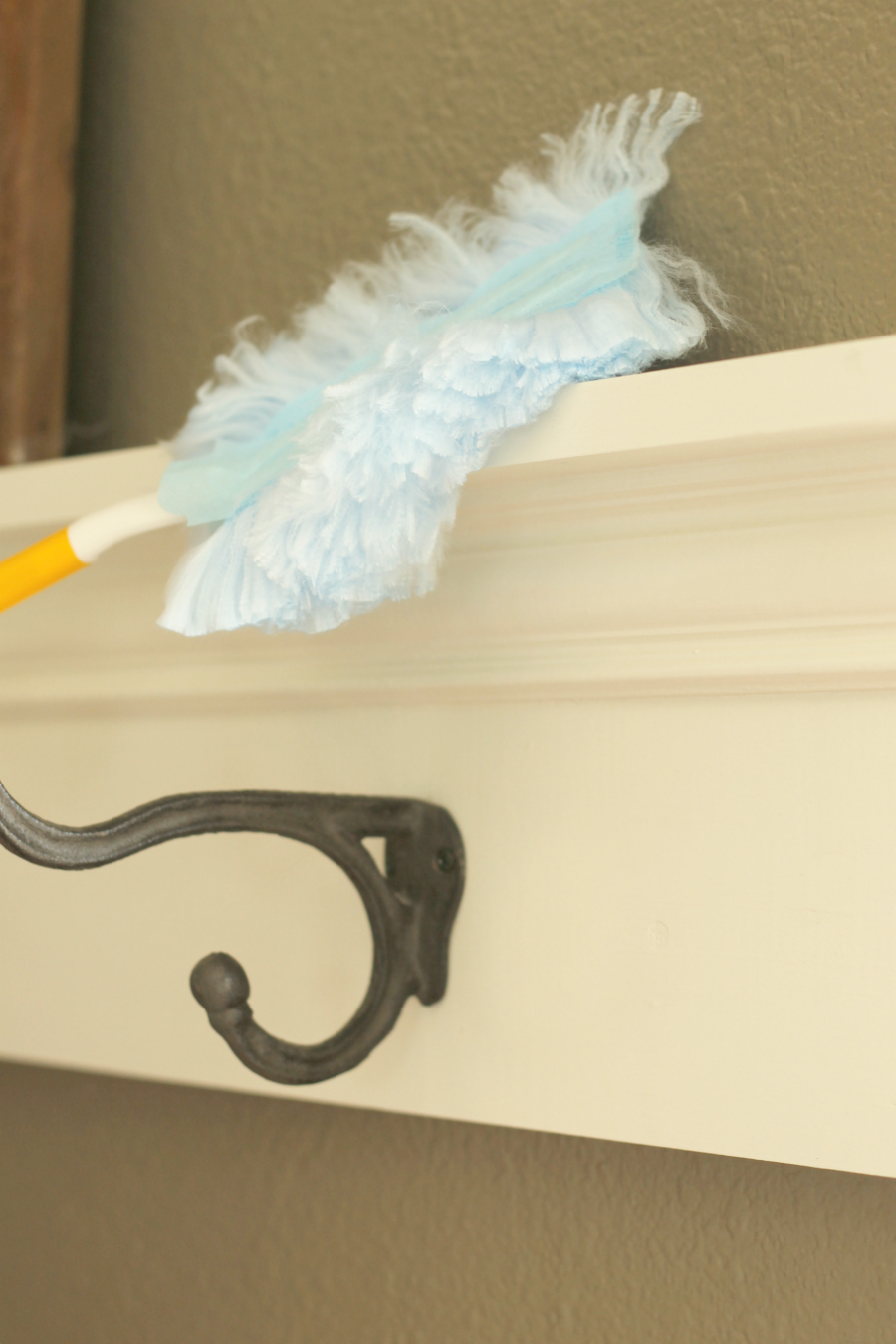 21 Things to Do Before Selling Your Home - Dust all surfaces, and don't forget cobwebs in corners higher up.