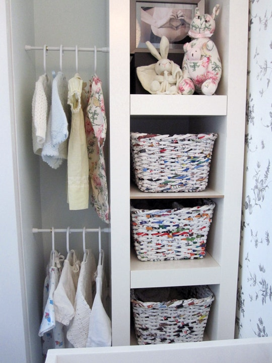 DIY Closet Organization Ideas On A Budget: Use Tension Rods To Create  Additional Storage In