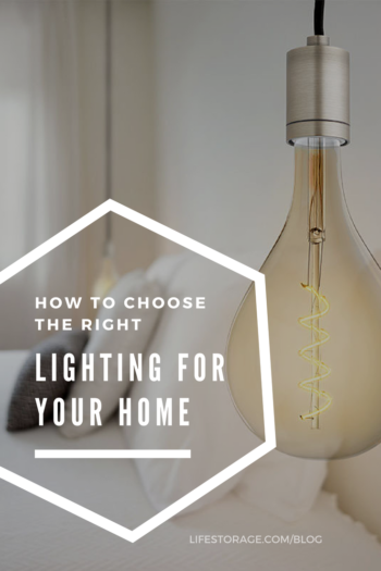 How to choose the right lighting for your home