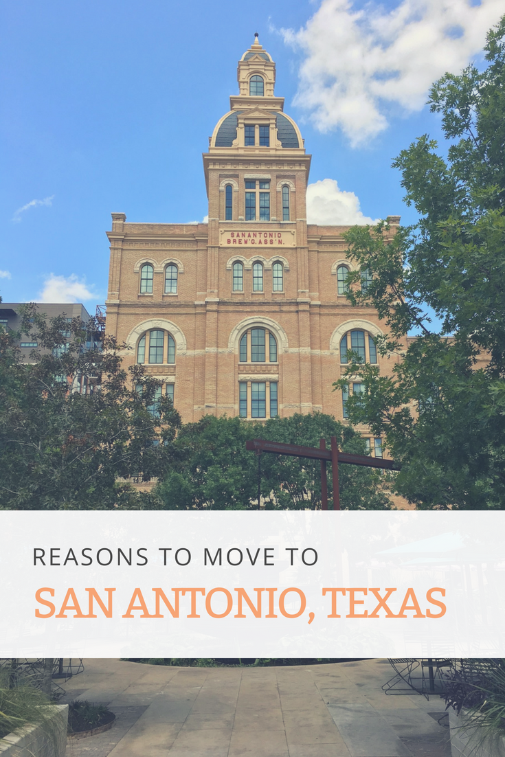 Moving to San Antonio Texas