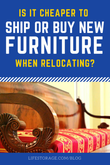 Is It Cheaper to Ship Your Furniture or Buy New When Relocating? | You have options for getting those couches, beds and tables from A to Z, but which choice is cheapest