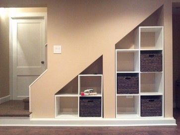Under the Stairs Storage Closet Ideas - Cubicle Storage