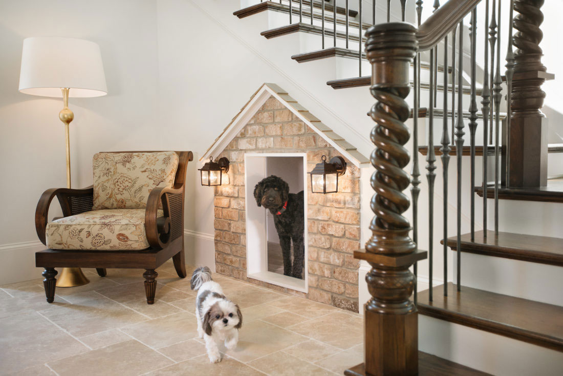 Under the Stairs Storage Closet - Doghouse
