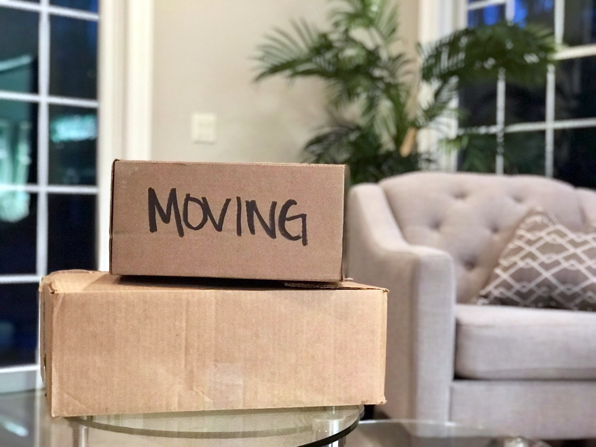 Who to notify when moving