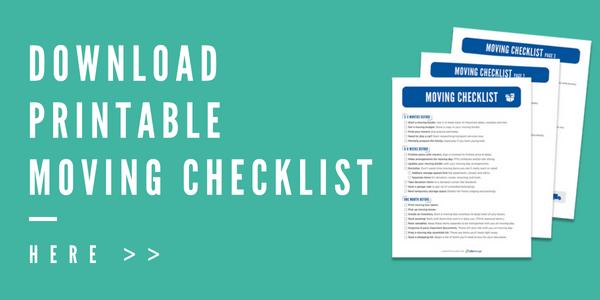 Free Printable Moving Checklist