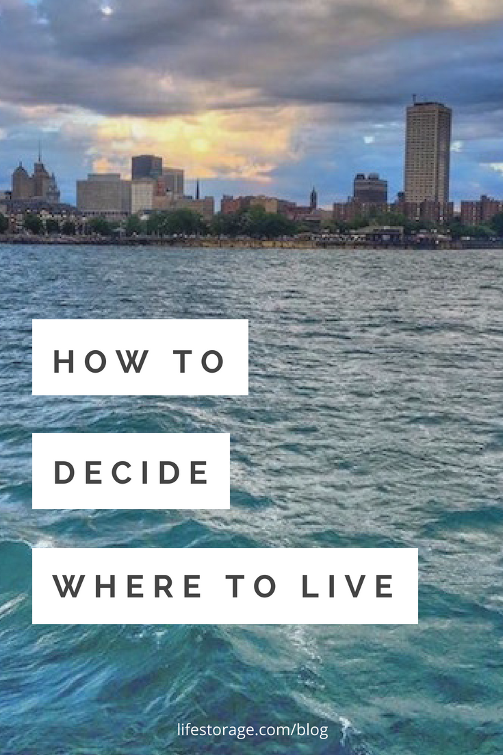 How to Decide Where to Live Pin