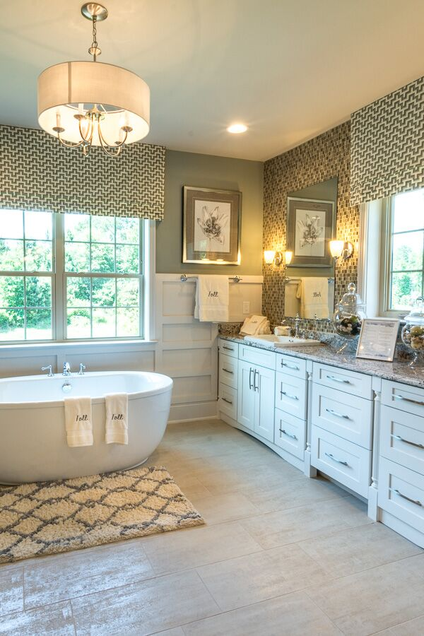 How to keep a house clean: beautiful clean bathroom