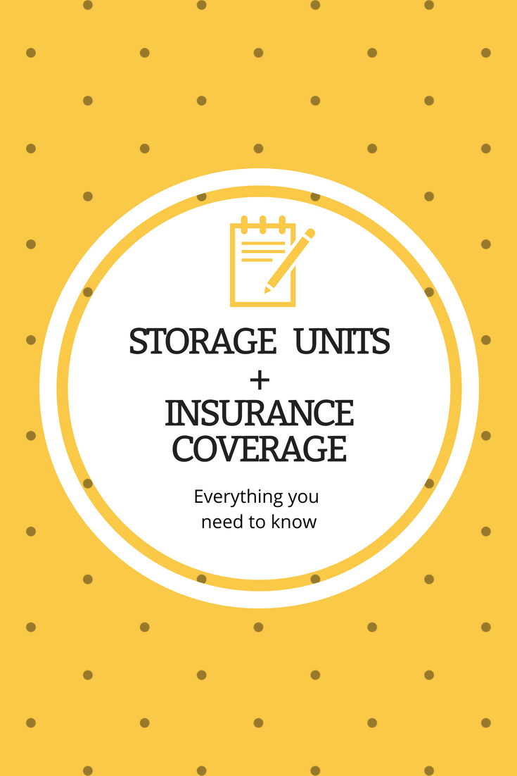 Storage unit insurance FAQs