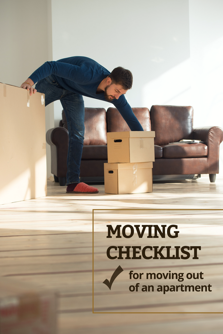 apartment move out checklist