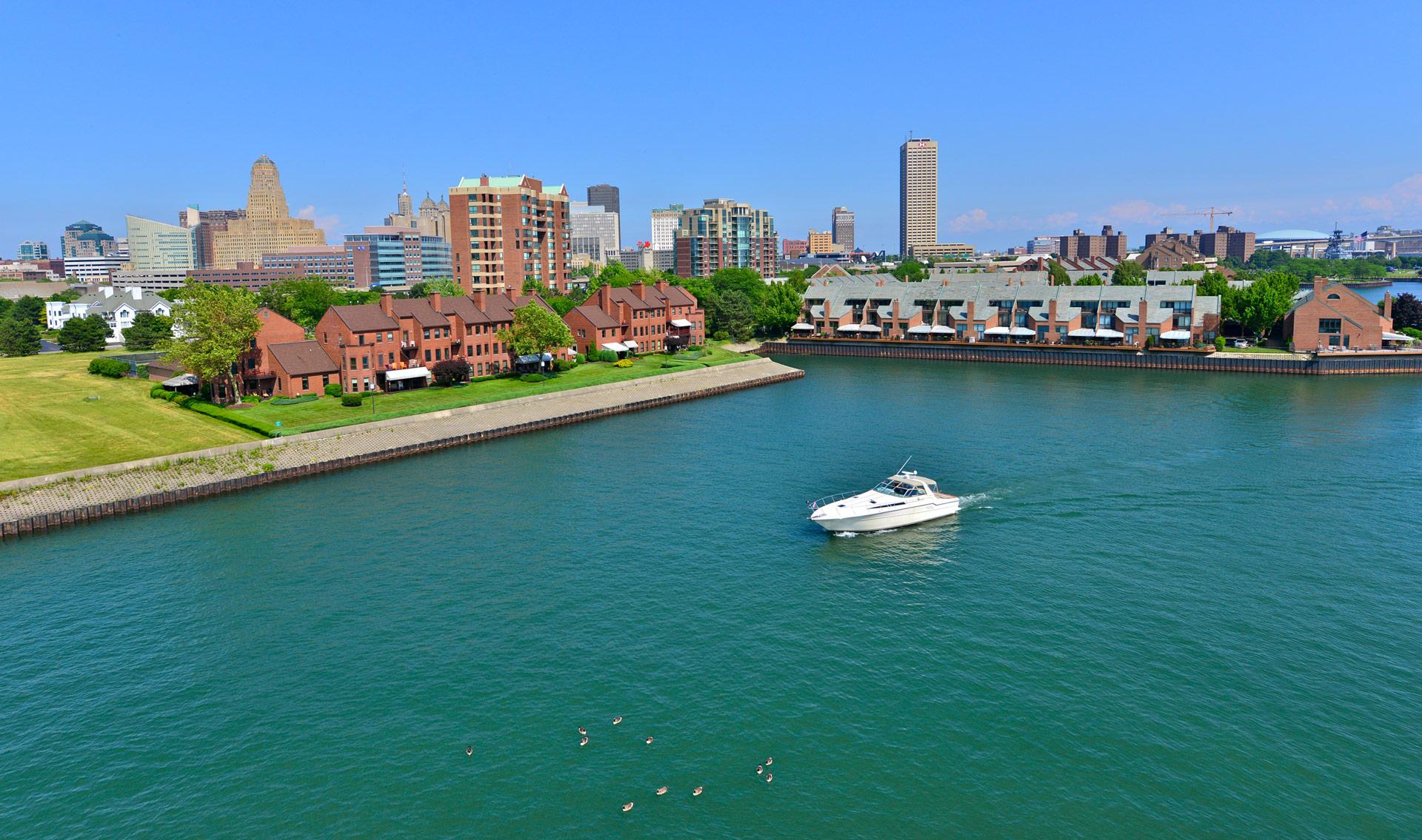 Moving to Upstate New York - Buffalo waterfront