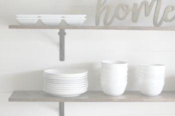 DIY Kitchen Shelves for Under $100 [How To]