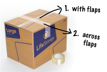 How to Pack Lamps - Moving Box Tip