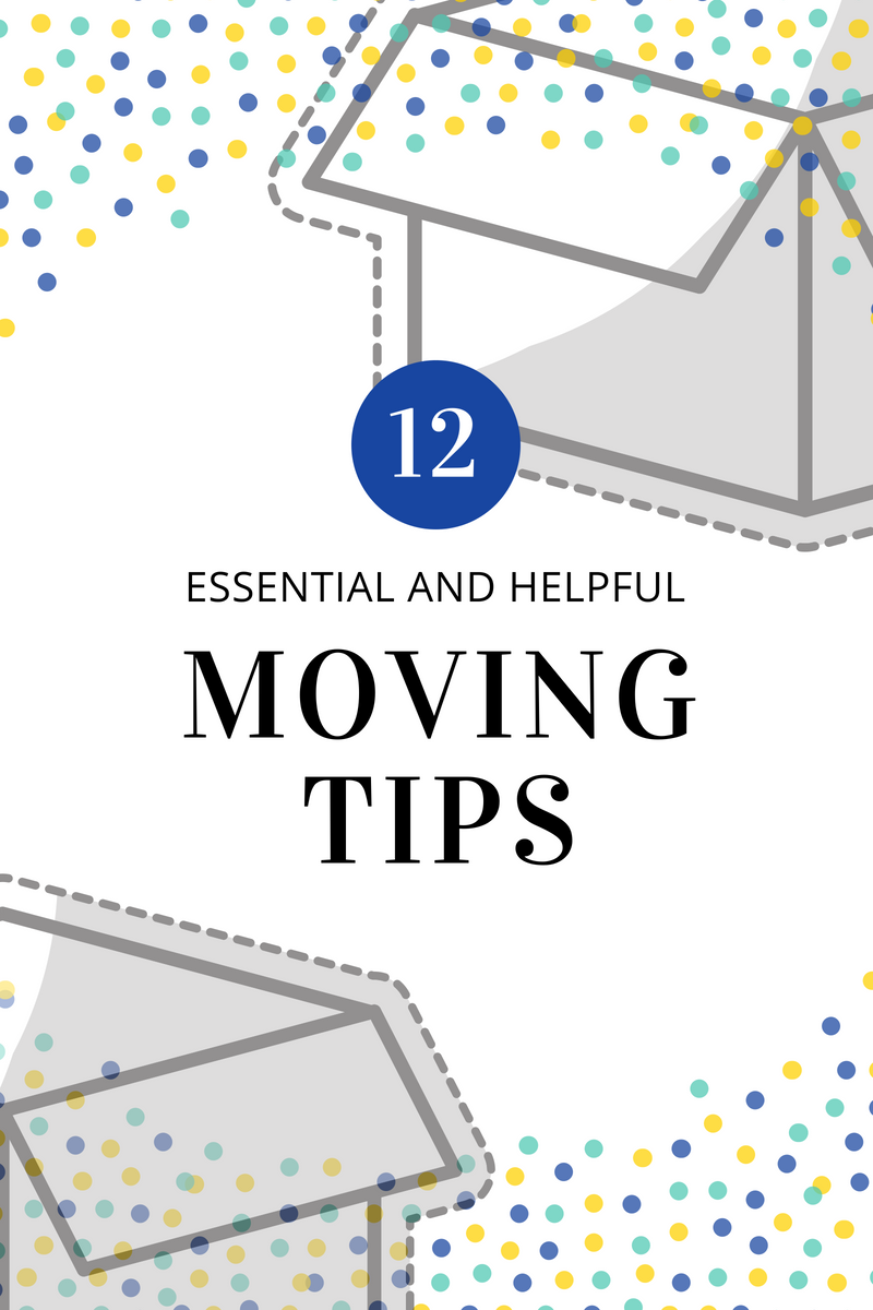 moving tips for a less stressful moving day