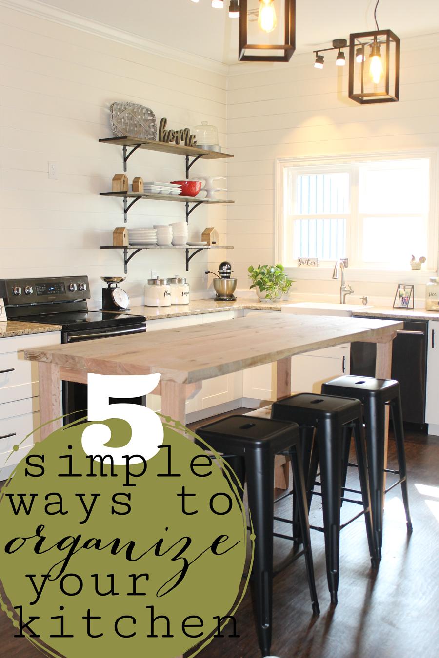 DIY Kitchen Storage: 5 simple ways to organize your kitchen