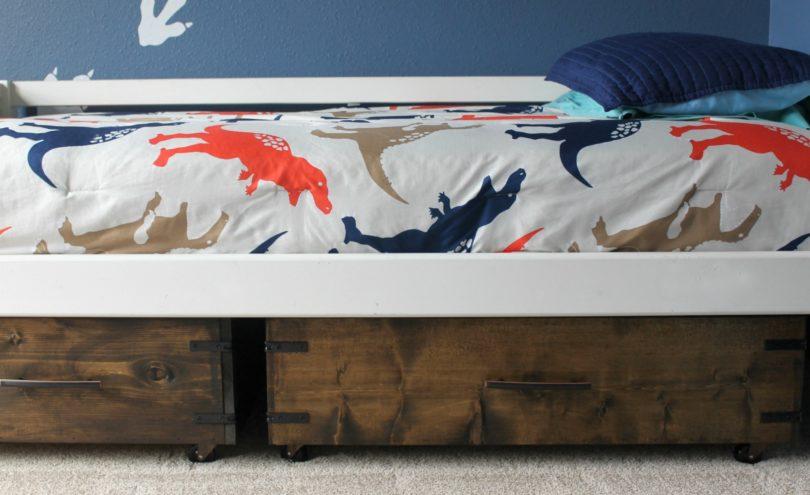 Under Bed Storage DIY Drawer Tutorial