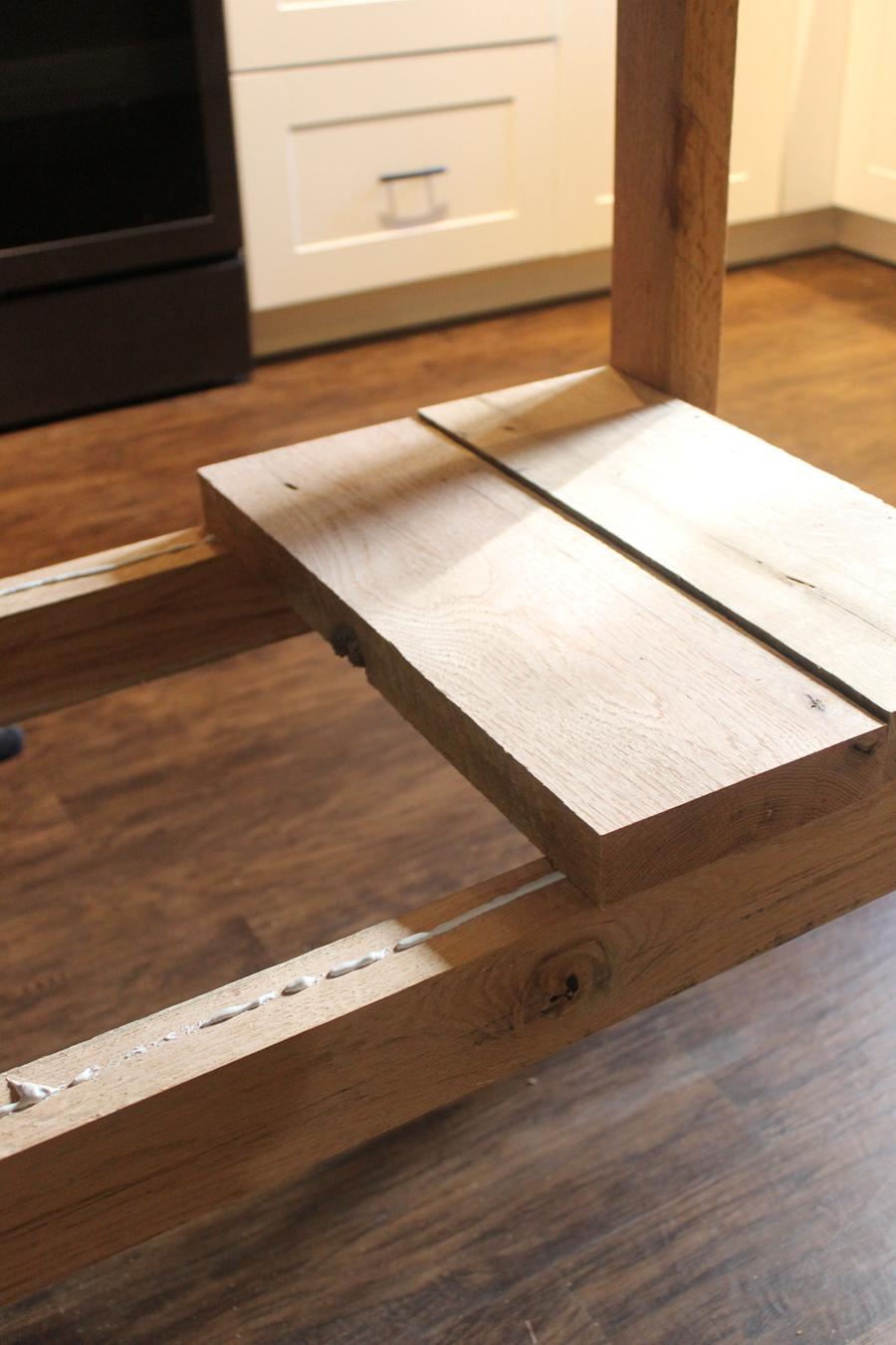 DIY Kitchen Storage: DIY Kitchen Island Tutorial