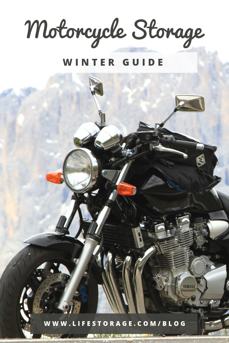 winter motorcycle storage - how to winterize a motorcycle