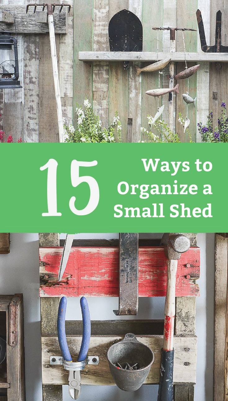 15 Shed Organization Ideas You Need to Try - Life Storage Blog