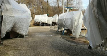 boat storage options for the winter