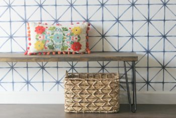 How to Craft a DIY Mudroom Bench That Will Impress Your Guests
