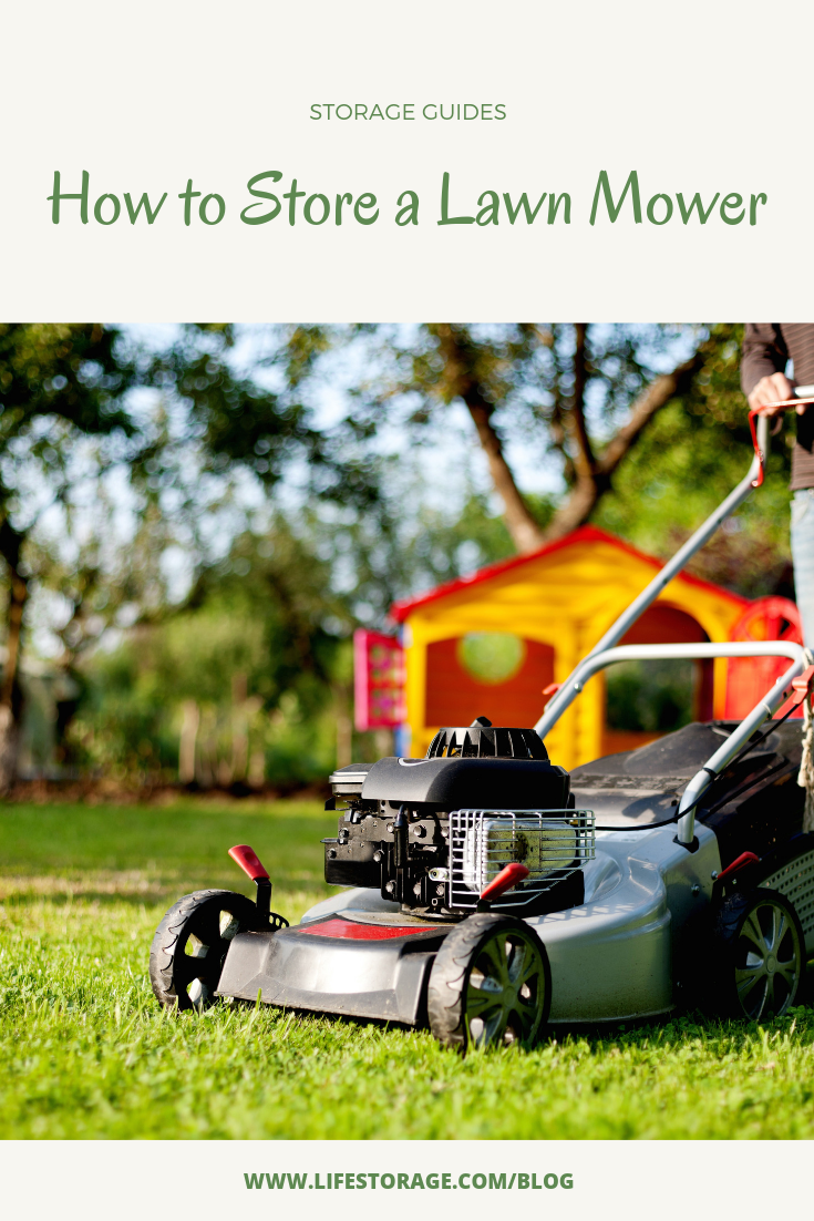 lawn mower storage tips - how to winterize a lawn mower
