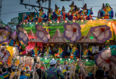 Mardi Gras Parade - Moving to New Orleans