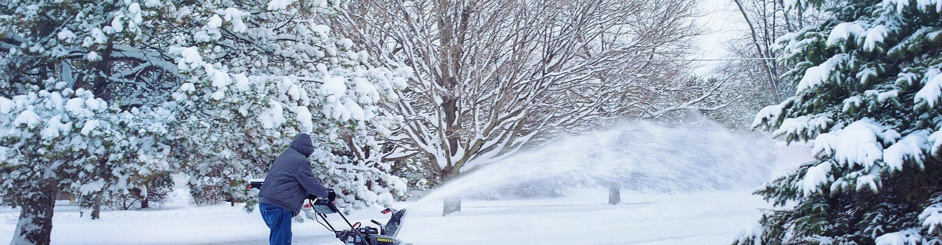 snowblower storage